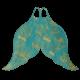 Mahina Mermaid - Merfin - Monofin - Aquamarine - Gr: 30-33