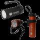 Nanight - Tauchlampen-Set - Sport 2 Schwarz & Tech 2 Rot