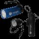 Nanight - Tauchlampen-Set - Sport 2 Blau & Tech 2 Schwarz
