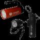 Nanight - Tauchlampen-Set - Sport 2 Rot & Tech 2 Schwarz