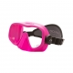 Oceanic Mini Shadow inkl. Neoprenband - Tauchermaske - Pink