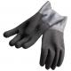Polaris Latex Handschuhe schwarz mit rauher Oberfläche - Gr: M