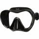 Polaris Frameless - Tauchmaske - schwarz