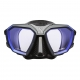 Scubapro Tauchmaske - D-Mask - Blau Schwarz - Gr: Wide