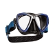 Scubapro Tauchmaske - Synergy Mini - Schwarz Blau Silber