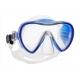 Scubapro Tauchmaske - Synergy 2 - mit Comfort Strap - Rahmen: Klar - Silikon: Blau