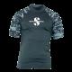 Rash Guard UPF-50 - Herren - Kurzarm - Graphite - Gr: S