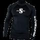 Scubapro Rash Guard UPF-50 - Herren - Langarm - Black - Gr: S