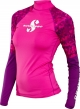 Scubapro Rash Guard UPF-50 - Damen - Langarm - Flamingo - Gr. S