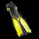 Scubapro Dolphin - Kinder Schnorchelflosse - Gelb - S-M (28-31)