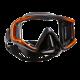 Scubapro - Maske Crystal VU - Orange Schwarz - Schwarz