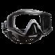 Scubapro - Maske Crystal VU - Schwarz Silber - Schwarz