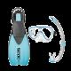 # Seac Schnorchelset Sprint Tris AD - Blau - Gr: 39-41 (S/M) - Abverkauf