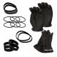 Scubaforce Thenar Dry Glove Set - mit XL Ringdurchmesser - XL Handschuh
