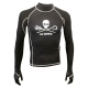 Rashguard - Unisex - Sea Shepherd Schwarz - Gr: XS
