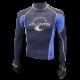Rashguard - Unisex - Atlantis Blau - Gr: S