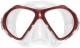 Scubapro Tauchmaske SPECTRA MINI - Silikon: transparent - Rahmen: rot