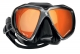Scubapro Tauchmaske Spectra - schwarzes Silikon - Shadow Black - Gläser verspiegelt