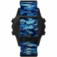 Shearwater TERIC Nylon Strap Kit - Marina Blue Shark CAMO (Long)