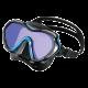 Tusa - Tauchmaske Paragon S - Fishtail Blue Amber