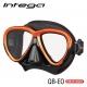 TUSA Intega - Tauchmaske - Energy Orange/Black