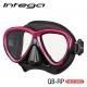 TUSA Intega - Tauchmaske - Rose Pink/Black
