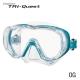 Tusa Tauchmaske M-3001 Freedom Tri-Quest - Ocean Green