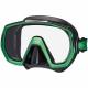 Tusa Tauchmaske M1003 Freedom Elite - Schwarz Energie Green