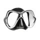 Mares X-Vision Ultra Liquidskin Tauchmaske - Schwarz Weiß