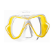 Mares X-Vision Ultra Liquidskin Tauchmaske - Gelb Klar