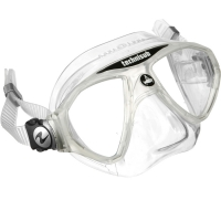 Aqualung Micromask - Tauchmaske - White Artic