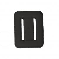 Blei - Schwarz ummantelt - Gewicht: 1 Kg - nicht verwenden