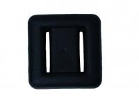 Blei - schwarz ummantelt  - Gewicht: 2 kg - nicht verwenden