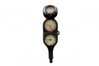 Polaris Dreier Konsole mit Tiefenmesser und Kompass - Top Line - in einer Linie