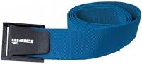 Bleigurt von Mares mit Kunststoffschnalle - Farbe: blau