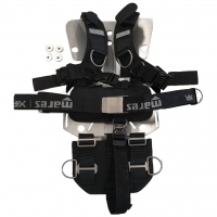 Mares Horizon Stainless Steel Backplate inkl. Harness
