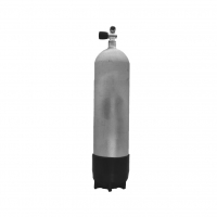 Polaris Faber 12 L lang - 232 bar Hot Dipped TG mit Ventil 12144 und Fuß