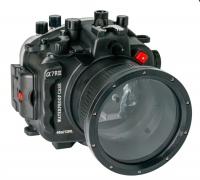 SeaFrogs - Unterwassergehäuse für die Sony A7R III mit Port für das 28-70mm - black