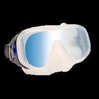 # Delphin Einglas Tauchmaske Attack - Blau - Abverkauf