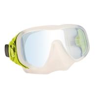 # Delphin Einglas Tauchmaske Attack Pro - Gelb - Abverkauf