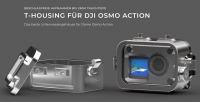 T-Housing Aluminium Tieftauchgehäuse T-HOUSING V2 für DJI Osmo Action