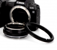Nauticam Zahnrad Adapter für Canon EOS R Adapterring mit Objektiv-Steuerring - Gear for Canon EF-EOS R Control Ring Mount Adaptor