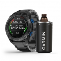 Garmin Descent MK2i T1 Transmitter Bundle mit Titan-Armband