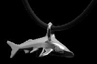# Baruna Silber Anhänger Hammerhai groß