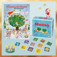 Traumzauberbaum - Paket - Adventskalender und Memory