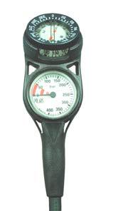 Zweierkonsole mit Kompass - Slim Line