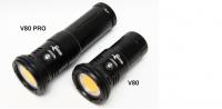 iDiving Videolampe V80 - 8000lm