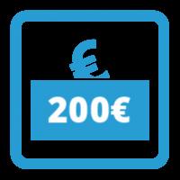 Gutschein - 200,- €