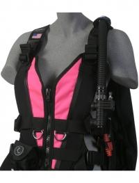 Zeagle Wingjacket Zena - Frontteil - Neon Pink - Gr: S