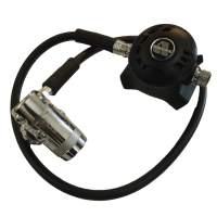 Apeks Atemregler TX50 mit 1.St. Apeks DST - 100cm Schlauch